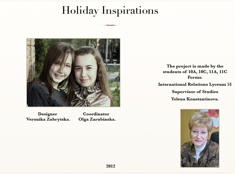 Holiday Inspirations 3